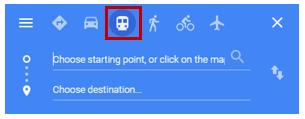 Mass Transit button
